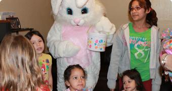 Easter Baskets at Texas Children's Hospital