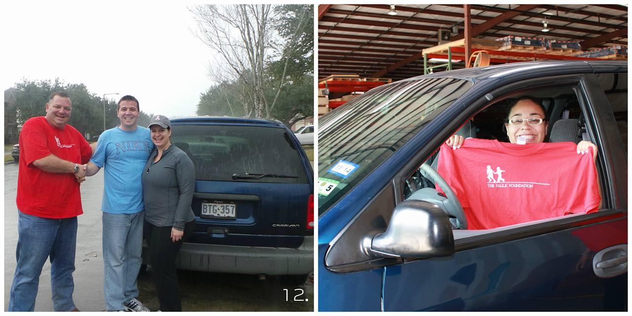 Minivan Giveaway Winner! blog image